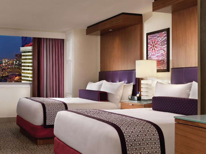 Two Queen Strip View Room