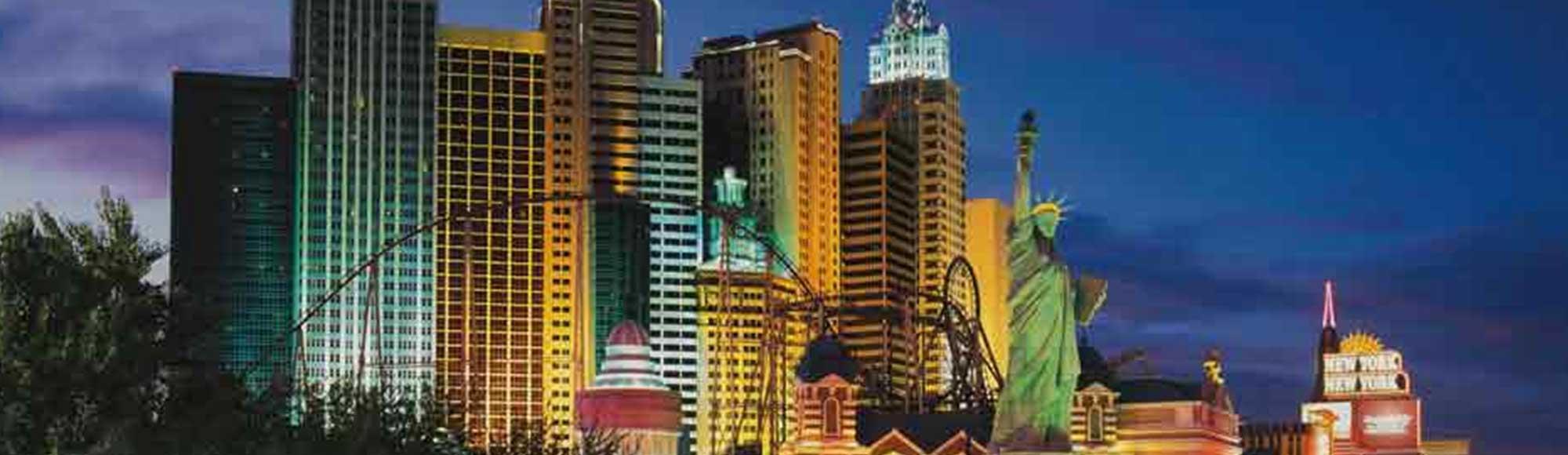 Roller Coaster At Ny Hotel
