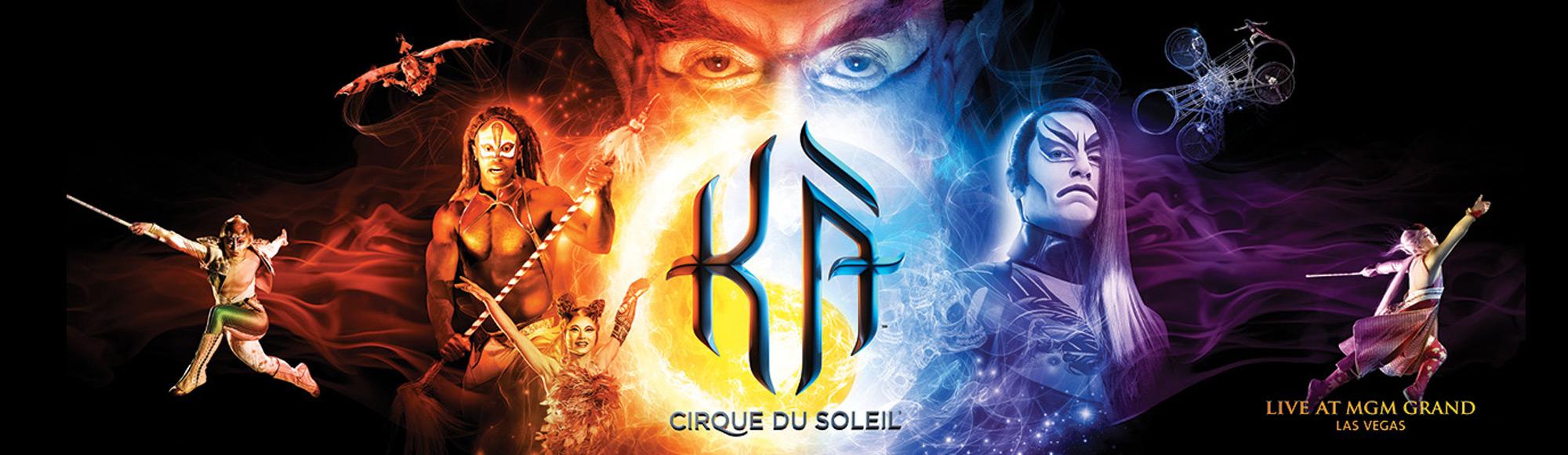 KÀ by Cirque du Soleil show