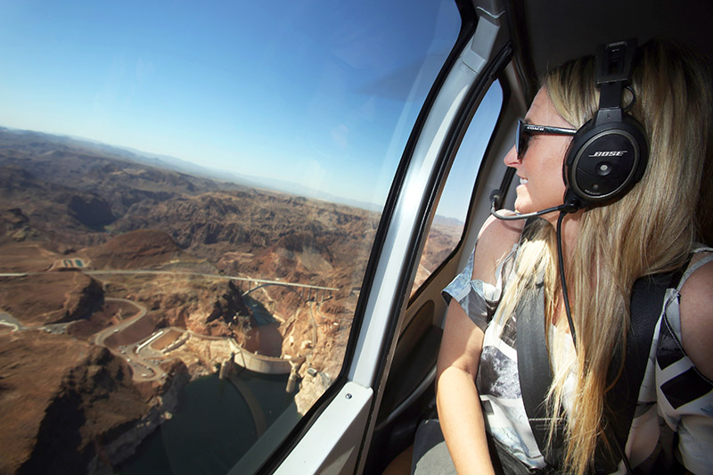 Golden Eagle Air Tour - Helicopter Window Views