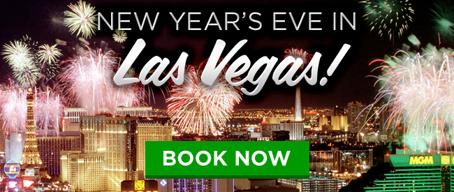 Book Your Trip To Vegas for New Years Eve