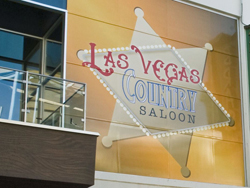 Las Vegas Country Saloon outdoor signage