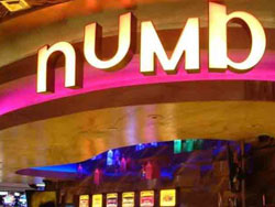 Numb Bar at Caesars Palace