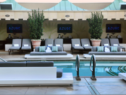 Azure pool club prices reviews photos for Pool spa trade show las vegas