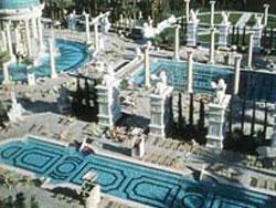 The pool at caesars palace las vegas for Garden of gods pool oasis