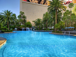The Pool At Mirage Las Vegas