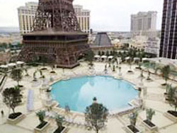 The pool at paris las vegas for Paris hotel pool