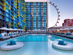The LINQ Hotel pool