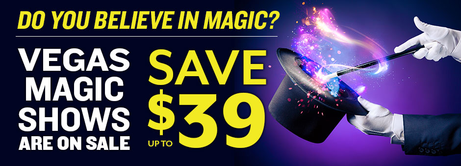 Save up to $39 on Magic Shows