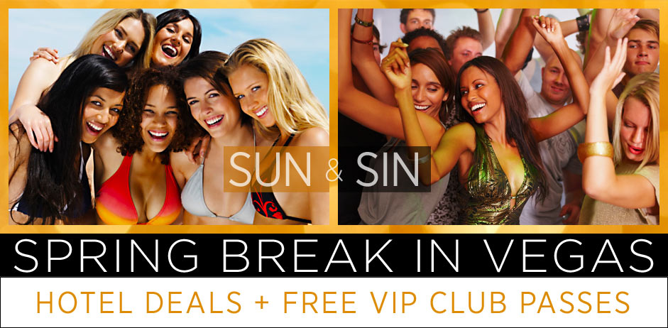Sun and Sin: Spring Break in Vegas