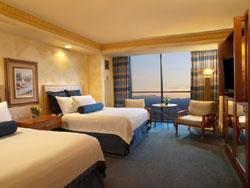 Luxor Tower Deluxe Double Queen Room