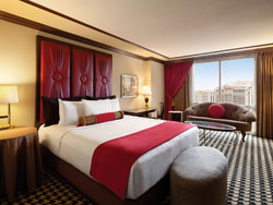 Red Room One King High Floor End Room Nonsmoking