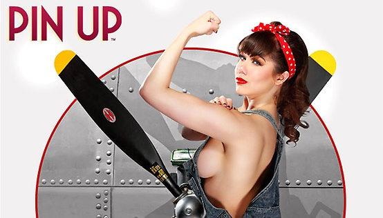 Claire Sinclair Pin Up Show