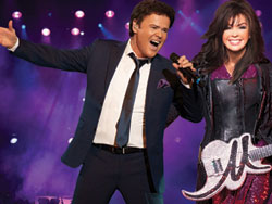 Donny and Marie at the Flamingo
