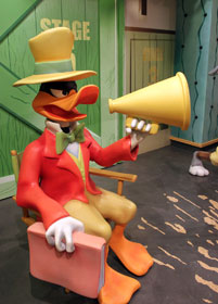 Daffy Duck at Chuck Jones Experience