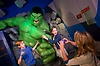 Madame Tussauds Marvel exhibit