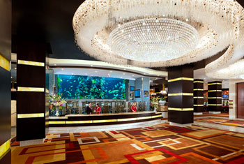 Golden Nugget Rush Tower Lobby