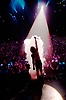 Criss Angel performs in his show, Believe