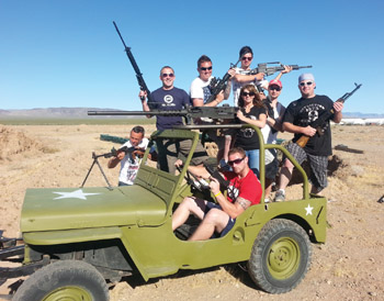 Bullets and Burgers Adventure Tour
