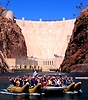 Hoover Dam and River Rafting Tour