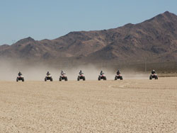 Primm ATV and roller coaster tour