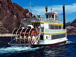 Hoover Dam Paddle Boat Tours