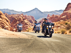 Valley of Fire Motorcyle Tour