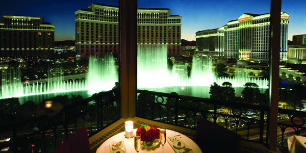 Eiffel Tower Restaurant At Paris Las Vegas