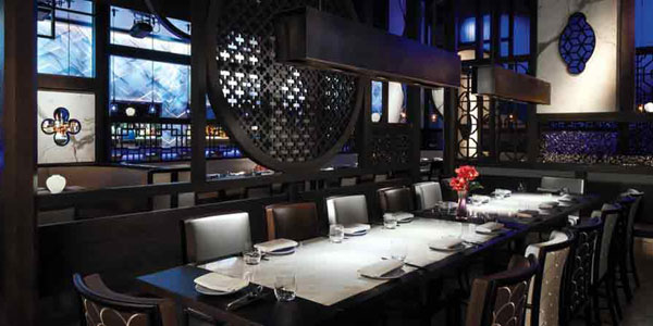 Every Once In A While This Two Story Restaurant Is Visual Treat As Well With Giant Buddha Statue Candle Wall And Rich Colorful Asian Décor