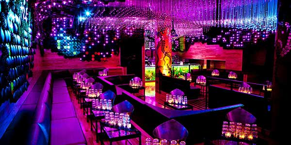 Top 10 nightclubs in las vegas guide to vegas vegas the dance floor is surrounded by granite vip banquettes with leather upholstery and crazy huge dual sided led video screens that sync with the music aloadofball Image collections