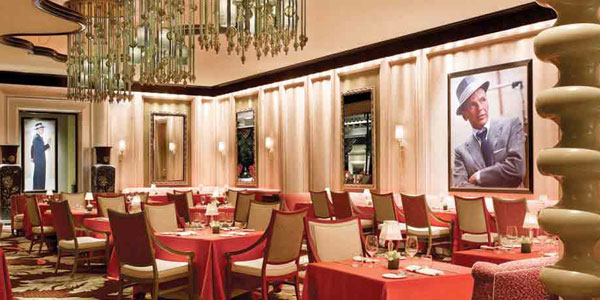 Sinatra Serves Italian Cuisine With A Modern Twist The Restaurant Décor Features Frank Memorabilia Including His Academy Award For From Here To