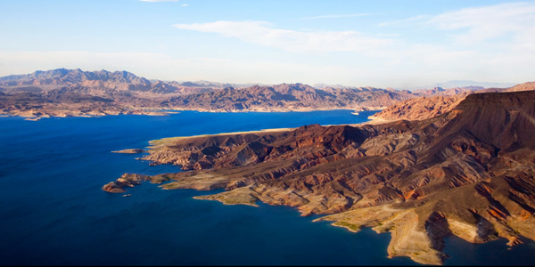lake mead one of the largest man made lakes in