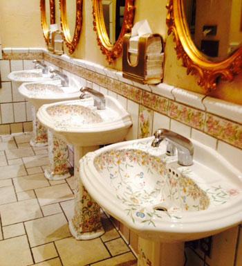 Bathroom Sinks Las Vegas top bathrooms in las vegas | las vegas blogs