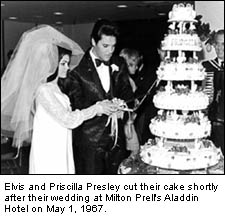 Elvis Presley and Priscilla wedding in Las Vegas